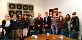 Članovi Centra za međunarodnu javnu politiku u poseti rezidenciji Meksika