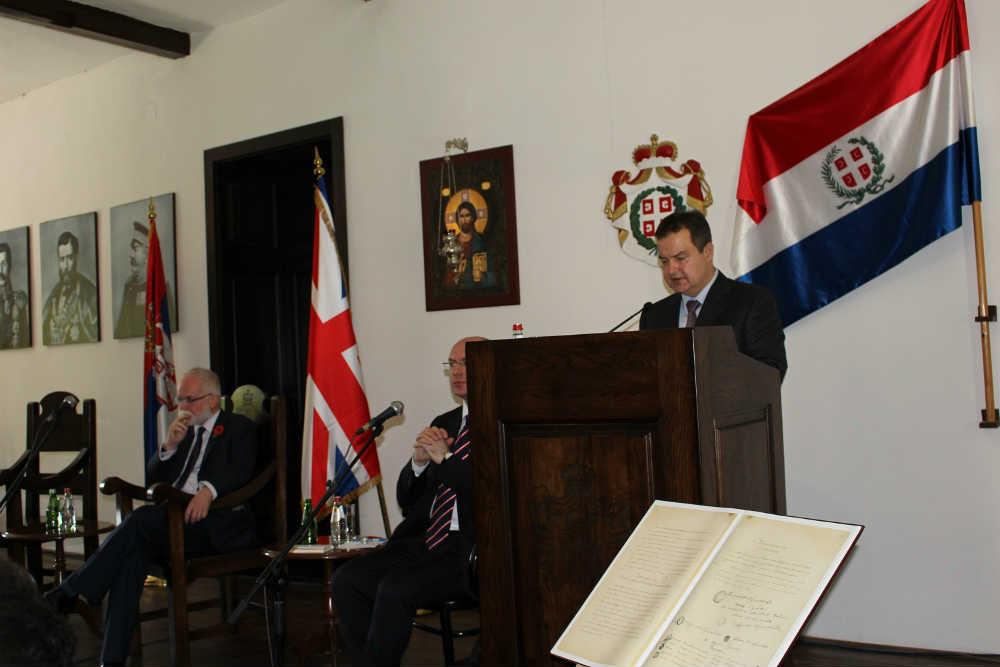Srpsko-britanski diplomatski odnosi