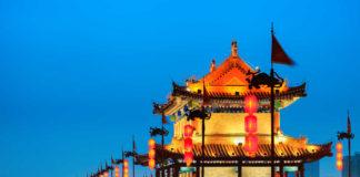 Kina, noćni pejzaž