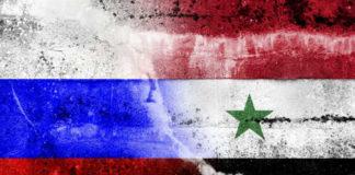 Zastave Rusije i Sirije