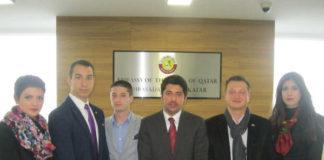 Članovi CMJP održali sastanak sa predstavnicima ambasade Države Katar