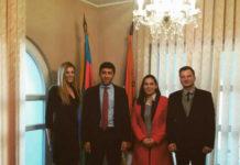 Petrovićeva, Milovanovićeva i Zubenica sa predstavnicima ambasade Azerbejdžana
