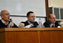 Dr Miša Đurković, docent dr Miloš Stanković i profesor dr Zoran Krstić