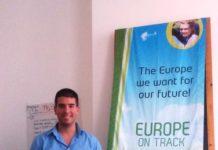 Luka Nikolić u Briselu povodom projekta Europe on track 4