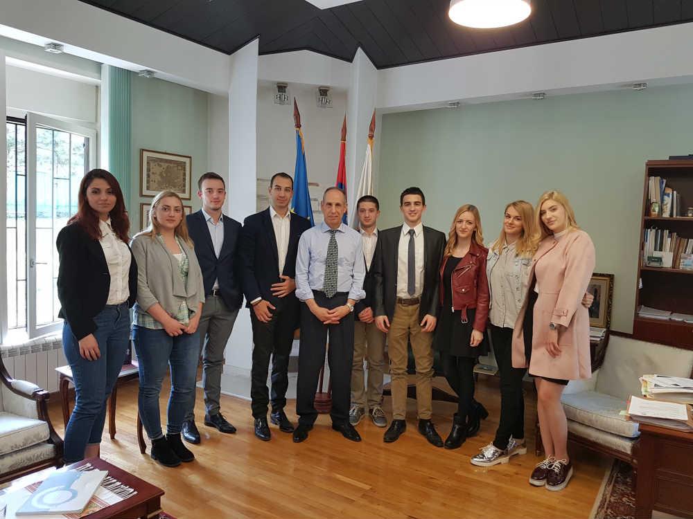 Članovi Centra i ambasador Republike Kipar