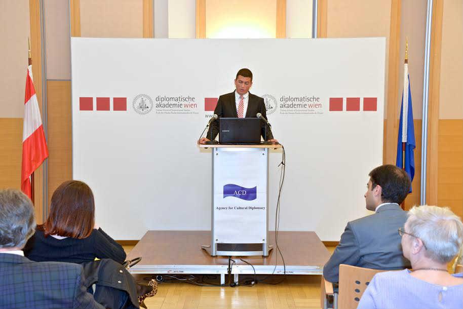 Radomir Jovanović, član UO Centra za međunarodnu javnu politiku u Diplomatskoj akademiji u Beču