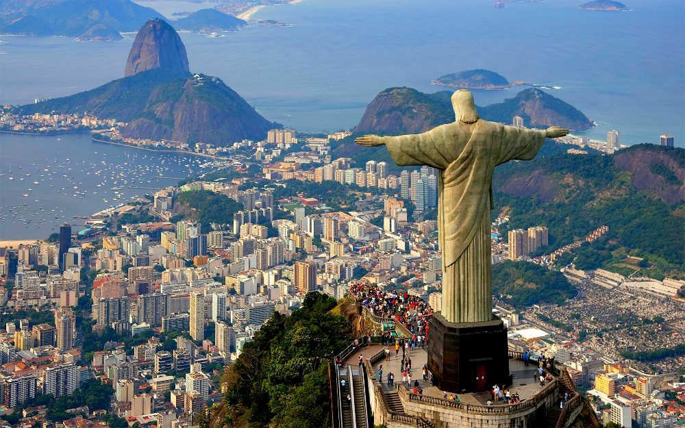 Čuvena statua Isusa Hrista u Riu de Žaneiru