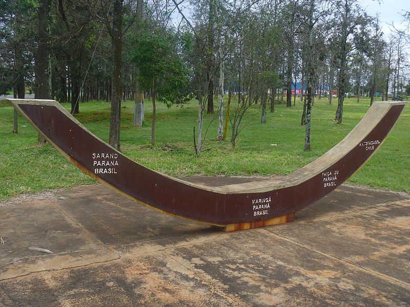 Obeležje južnog povratnika u gradu Maringa, saveznoj državi Parana u Brazilu