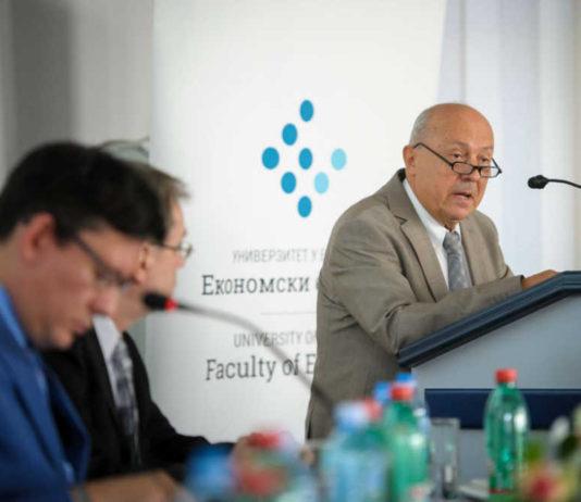 Profesor dr Branislav Boričić, dekan Ekonomskog fakulteta Univerziteta u Beogradu