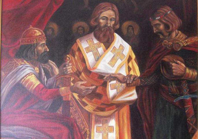 Sveti Sava miri zavađenu braću