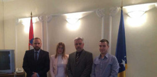 Članovi Centra sa otpravnikom poslova u ambasadi BiH