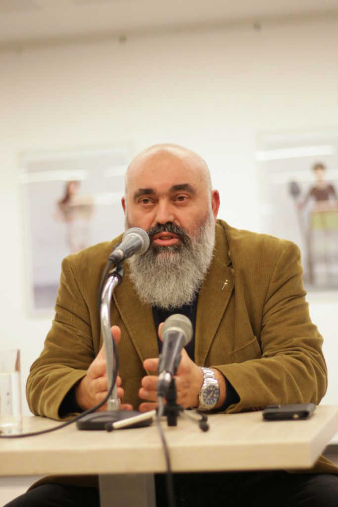 Profesor dr Ljubiša Despotović, foto Kulturni centar Novi Sad