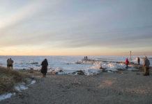 Klimatske promene u 21. veku - zaleđena obala rta Kod u Masačusetsu, SAD