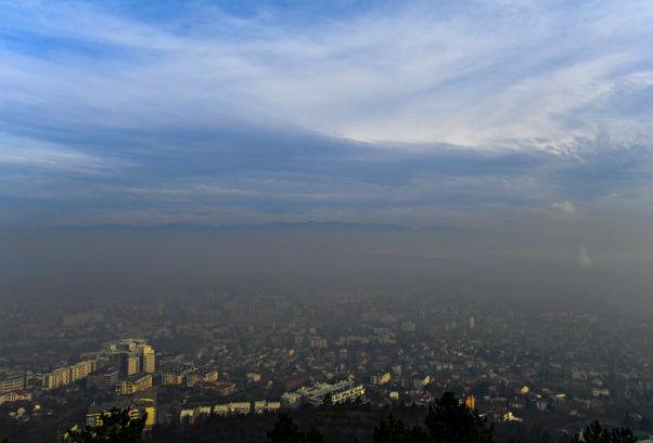 Zagađenost vazduha u Skoplju, zima 2018.