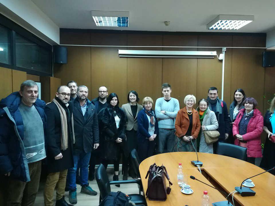 Članovi CMJP na sastanku se predstavnicima ministarstva zaštite životne sredine