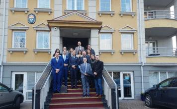 Članovi Centra za međunarodnu javnu politiku posetili ambasadu Kraljevine Švedske