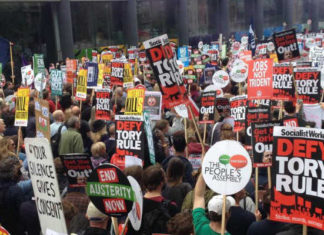 Demonstrations against austerity measures