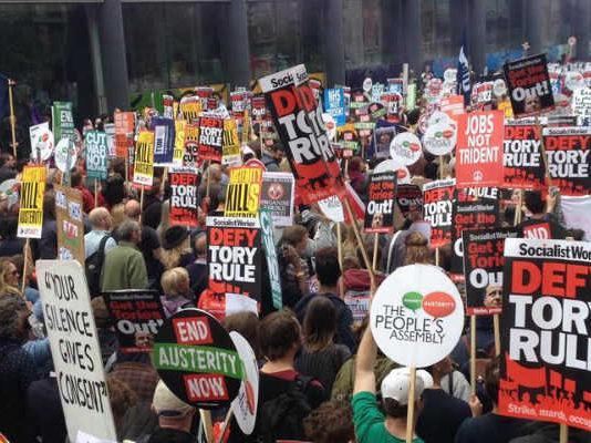 Demonstrations against austerity measures