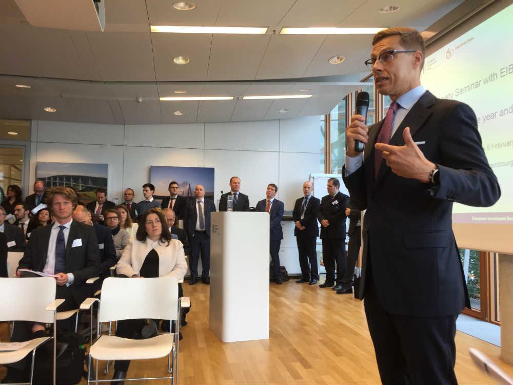 Potpredsednik Evropske investicione banke Aleksandar Štub
