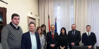 Članovi Centra sa ambasadorom Bakotom