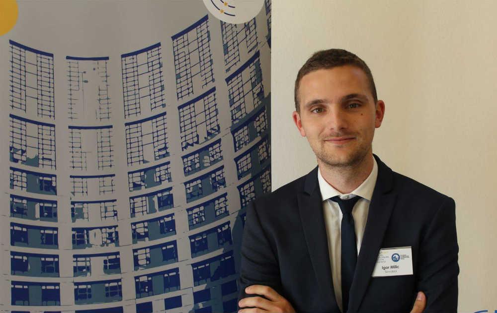 Igor Milić, član Saveta Centra za međunarodnu javnu politiku