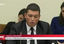 Radomir Jovanović iznosi stav Centra za međunarodnu javnu politiku o Kosovu i Metohiji