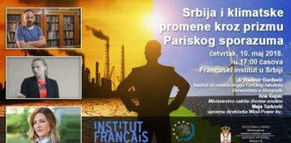 """Panel diskusija ,,Srbija i klimatske promene kroz prizmu Pariskog sporazuma"""""""