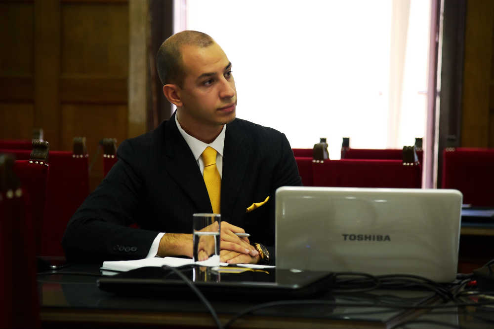 Aleksandar Klarić, predsednik Centra za međunarodnu javnu politiku