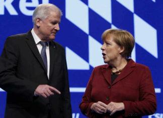 Angela Merkel i Horst Zehofer