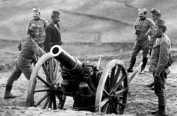 Srpski vojnici u Prvom svetskom ratu