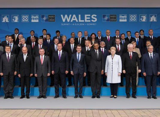 Zvaničnici na NATO samitu u Njuportu