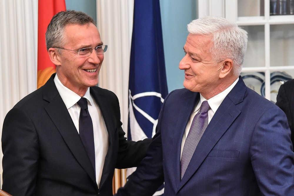 Generalni sekretar NATO Jens Stoltenberg i premijer Crne Gore Duško Marković