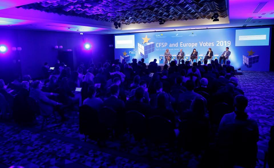 """Učesnici konferencije """"ZSBP i evropski izbori 2019"""""""