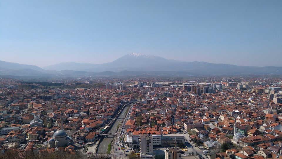 Pogled sa tvrđave Kaljaja na Prizren (Foto: Radomir Jovanović)