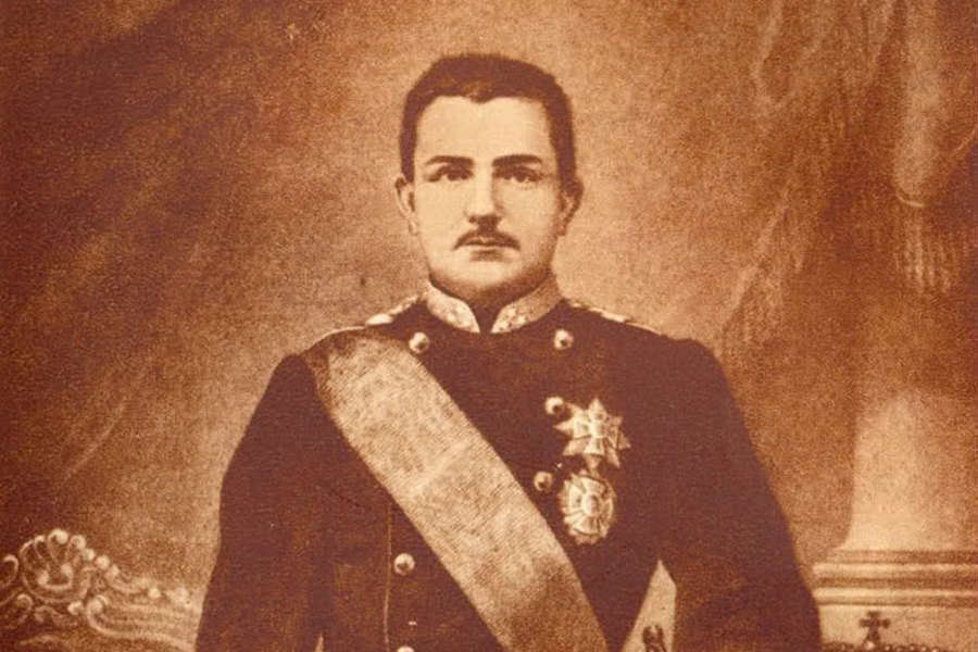 Mladi kralj Milan Obrenović kojeg je u Srbiju doveo Jovan Ristić