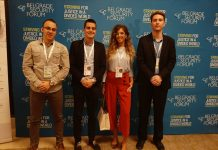 Članovi Centra na Beogradskom bezbednosnom forumu