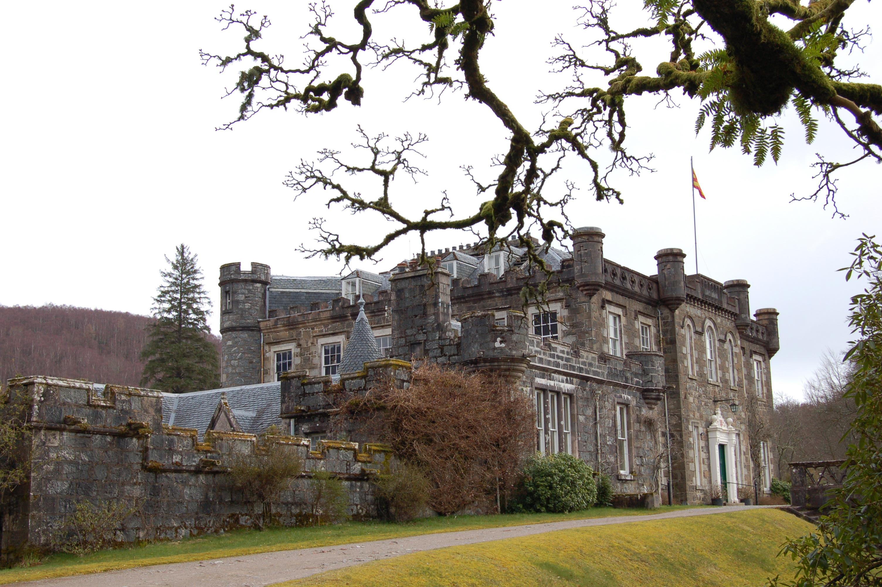Dvorac Aknakari u Škotskoj (Foto: Keeshu at English Wikipedia)