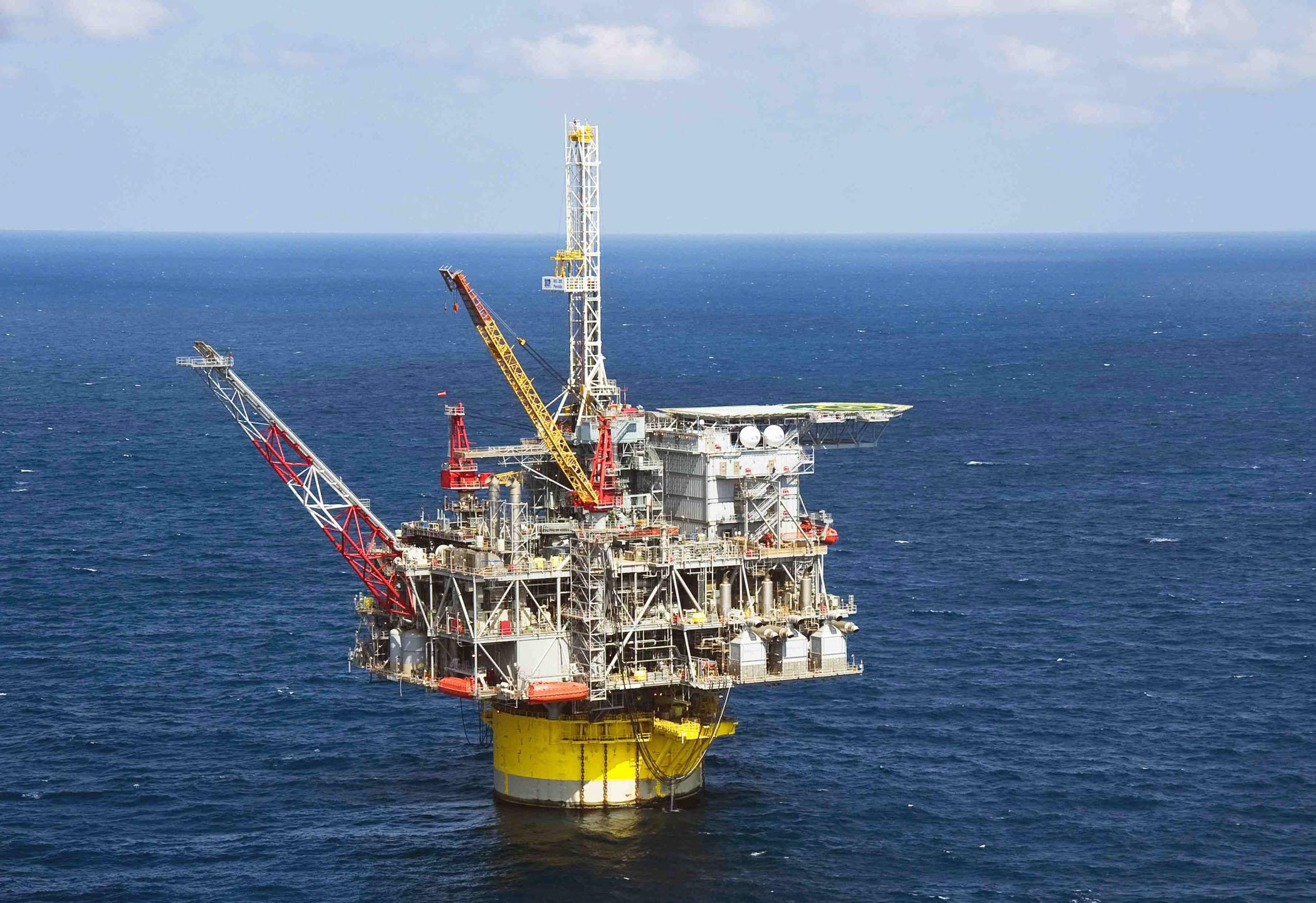Naftna platforma kompanije Shell u Meksičkom zalivu (Foto: EPA/Mike Duhon)