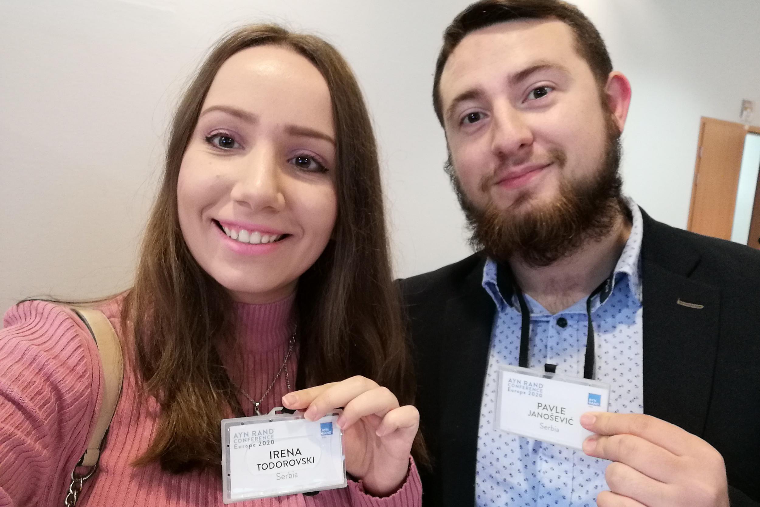 Irena Todorovski i Pavle Janošević