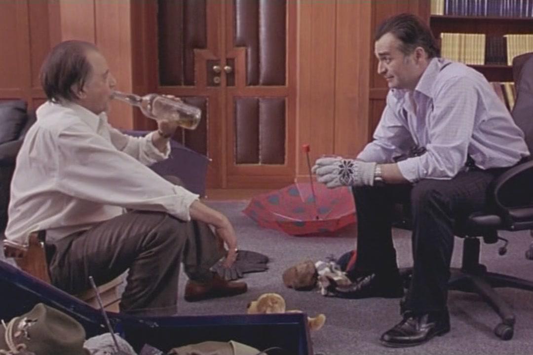 """Bora Todorović kao Luka Laban i Branislav Lečić kao Teodor Teja Kraj u filmu """"Profesionalac"""" (Foto: imdb.com)"""