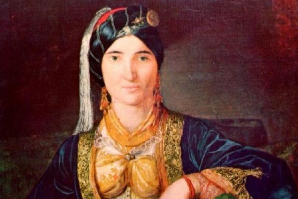 """Katarina Ivanović, """"Portret kneginje Perside Karađorđević"""" (Foto: Wikimedia)"""