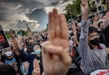 Protesti na Tajlandu u doba pandemije COVID-19